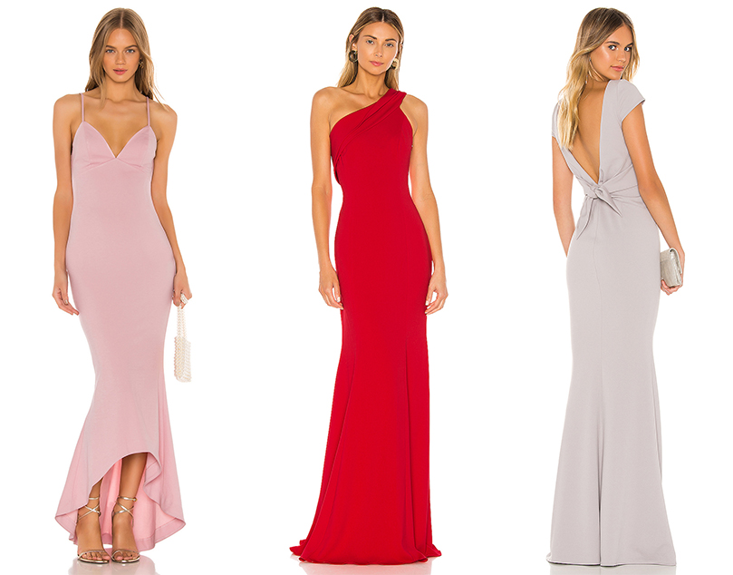 sexy  wedding look maid of honor high-end outfit revolve