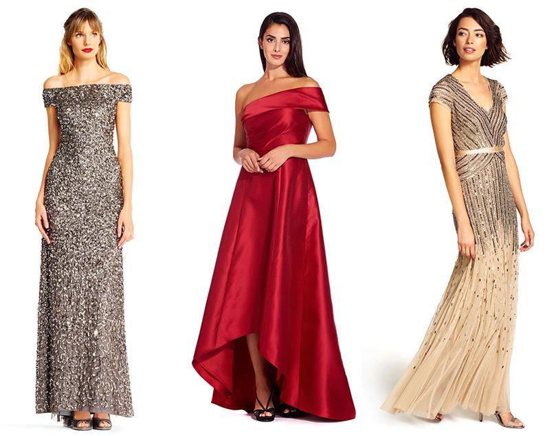 robe sequins rétro soirée