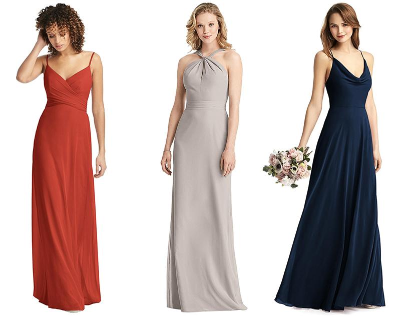 Dessy bridesmaid dress wedding outfit eshop look maid of honor