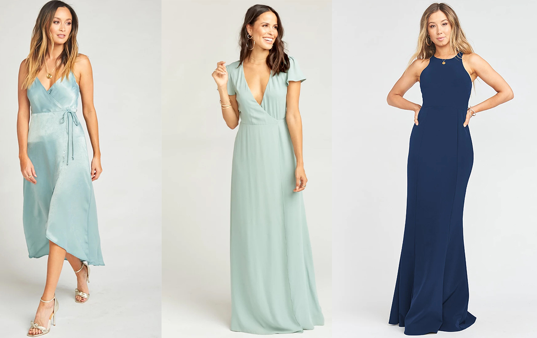 Show Me Your Mumu bridesmaid dress wedding gown eshop look outfit