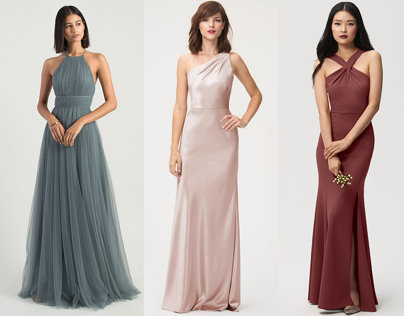 bridesmaid dress wedding selection jenny yoo look outfit gown maid of honor