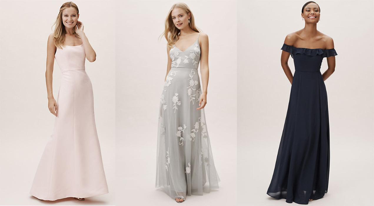 BHLDN bridesmaid dress look best wedding outfit maid of honor