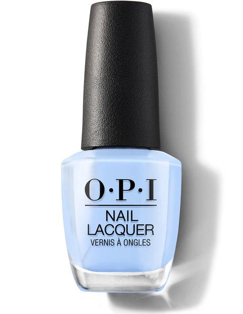 nail polish OPI blue wedding planner france