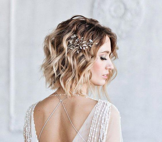 short hair hairstyles wedding planner France