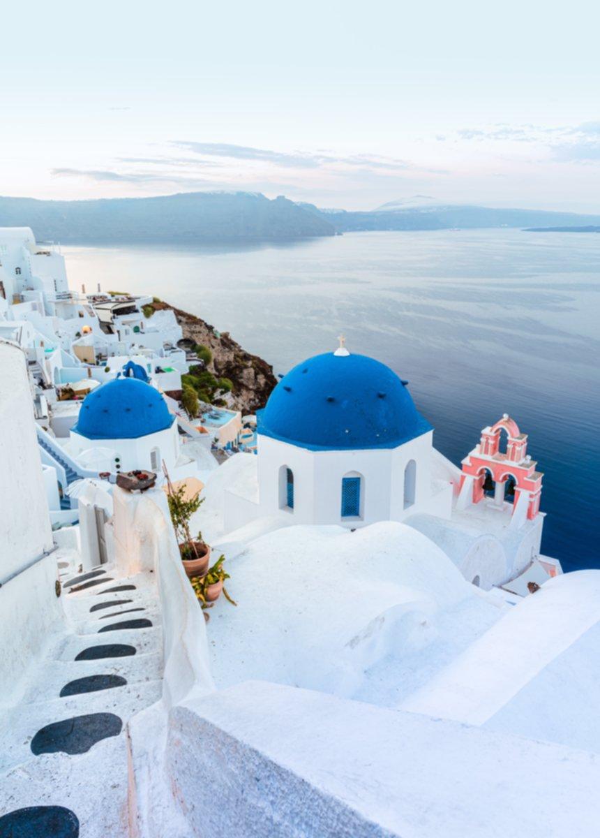 Honeymoon destination Santorini