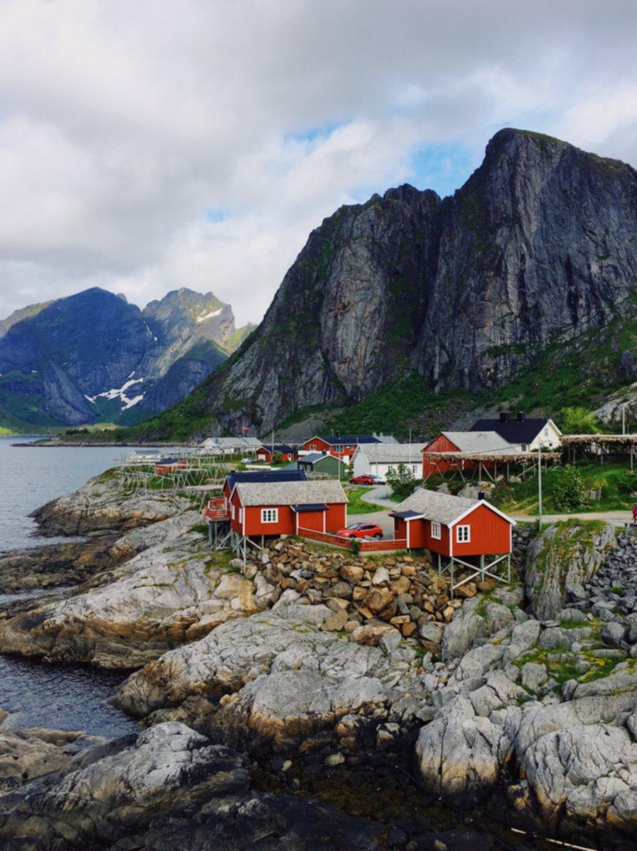 Lofoten island honeymoon destinations