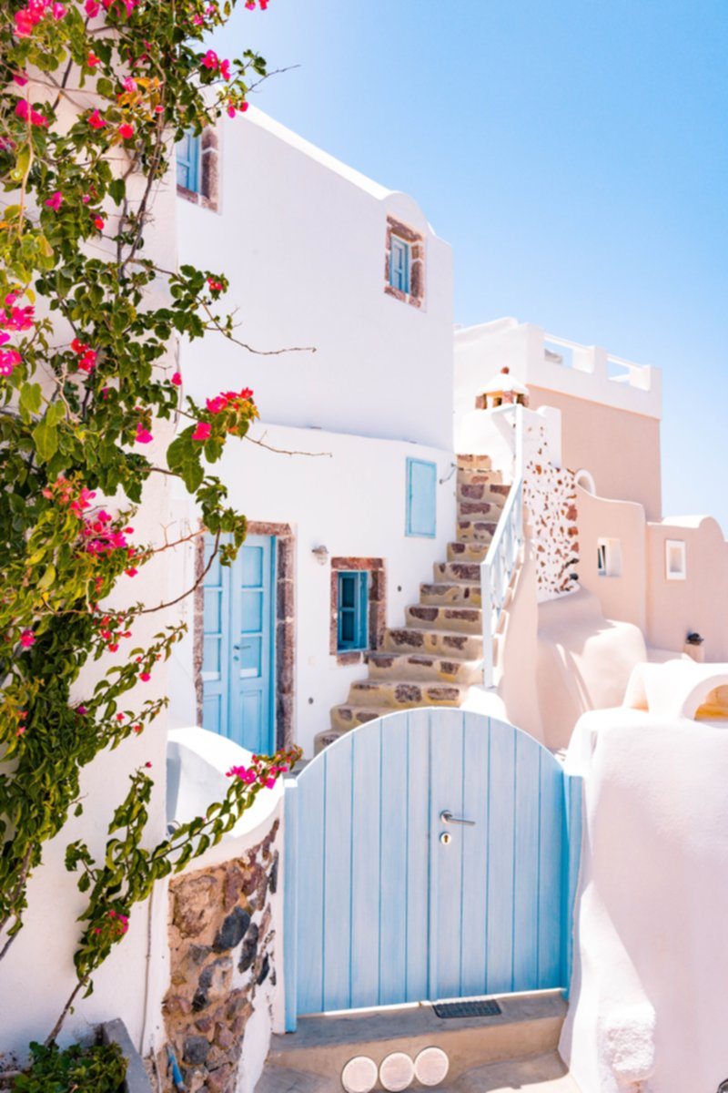 Honeymoon destinations Santorini